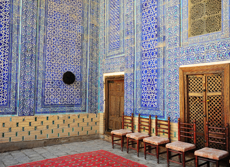 Khiva: traditional madrasah interior