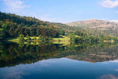 湖水地方、カンブリア州、英国