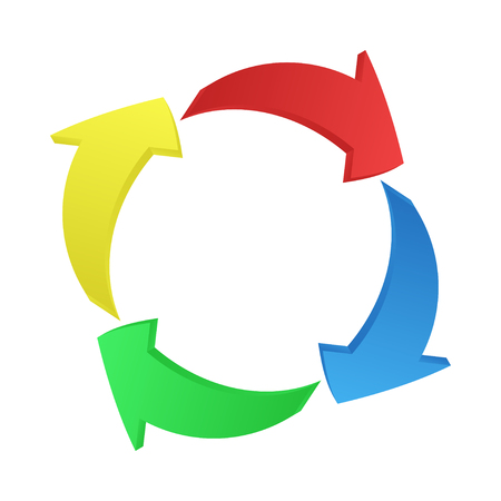 3D-Set mit Pfeil. Zeichen, Symbol, Element. Isoliertes Vektordesign. Abstrakter Technologiehintergrund. Pfeile-Vektor-Sammlung. Vektor-Pfeil-Symbol. Sozialen Medien. Symbolsammlung zu skizzieren. Vektorgrafik