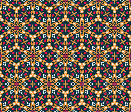 Islam pattern in abstract style. Arabic pattern background. Vintage texture. Holiday islamic background. Vintage decorative element. Seamless texture ornament. Ramadan vector.
