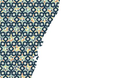 Modern abstract, great design for any purposes. Abstract pattern. Geometric shape background. Fashion illustration. Color geometric pattern. Modern template design. Summer vector illustration.
