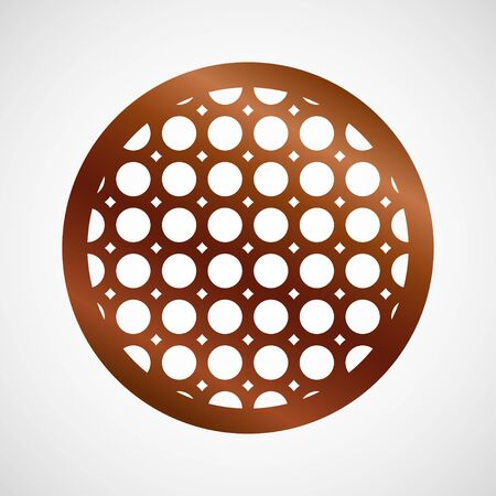 Vector coaster design for laser cut from wood, plywood or metal. Cutting wooden panel. Vector illustration isolated. Laser cut wood coasters. Geometric decorative designs. Cutout circle silhouette