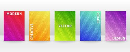 Minimal vector abstract cover notebook design. Brochure, book, magazine template. Abstract design for copybook brochures and school books. Planner and diary cover for print. Notebook paper.