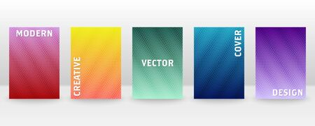 Minimal vector abstract cover notebook design. Brochure, book, magazine template. Abstract design for copybook brochures and school books. Planner and diary cover for print. Notebook paper. 版權商用圖片 - 146712771