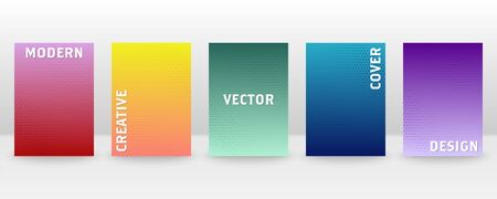 Minimal vector abstract cover notebook design. Brochure, book, magazine template. Abstract design for copybook brochures and school books. Planner and diary cover for print. Notebook paper. 版權商用圖片 - 146711132