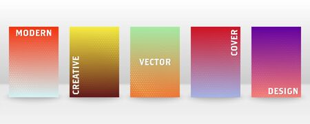 Minimal vector abstract cover notebook design. Brochure, book, magazine template. Abstract design for copybook brochures and school books. Planner and diary cover for print. Notebook paper. 版權商用圖片 - 146713541