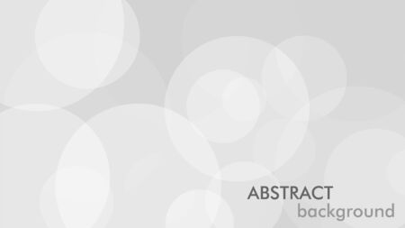 Abstract background with gray circle. White and grey abstract modern transparency circle presentation background. Vector circles template vector design. Object web design. Round shape. Minimal poster Çizim