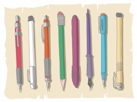 nib: Sketchy set of writing utensils