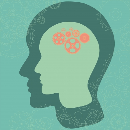 concentration gear: Thinking mind