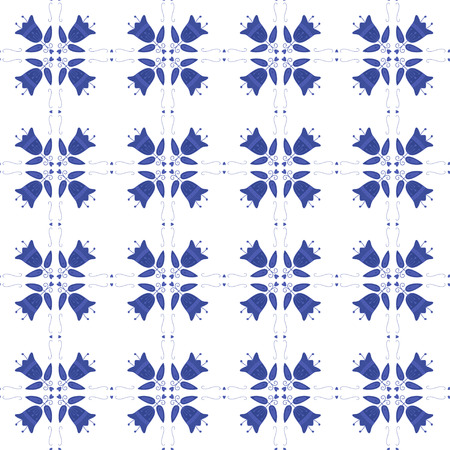 Seamless pattern with Dutch ornaments 版權商用圖片 - 35712690