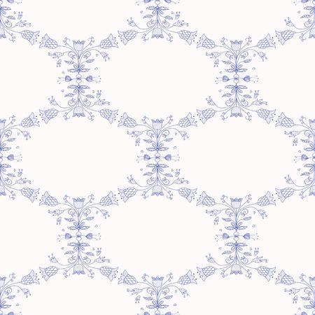 dutch culture: Seamless pattern with Dutch ornaments