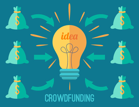 investor: Crouwdfunding concept