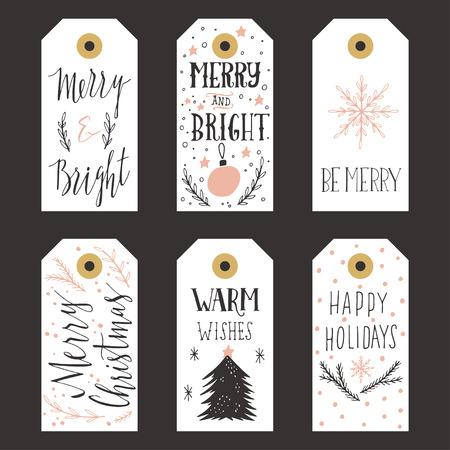 christmas gift: Vintage Christmas gift tags