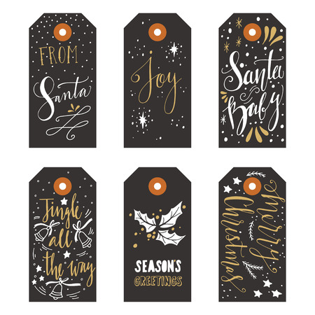 discount tag: Vintage Christmas gift tags