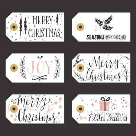 christmas vintage: Vintage Christmas gift tags