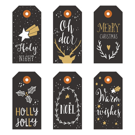 tag: Vintage Christmas gift tags