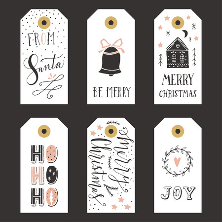 a holiday gift: Vintage Christmas gift tags