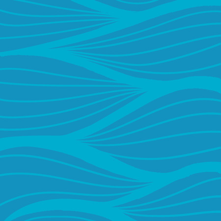 wave vector: Hand drawn wave vector pattern Stock Photo