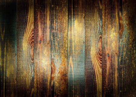 Old wood texture panel with scratches and cracks for backdrop and background