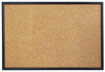 Empty corkboard Stock Photo - 15968274