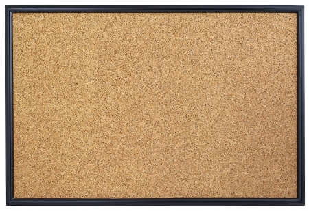 Empty corkboard  Stock Photo
