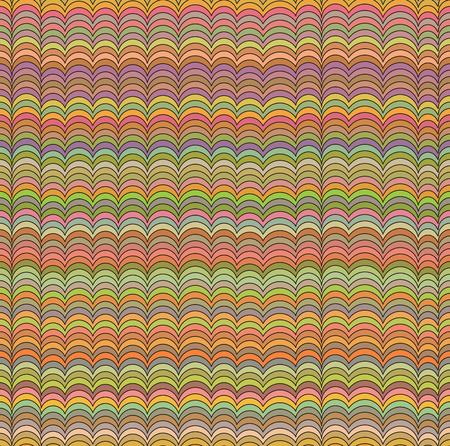 abstract waves: Abstract seamless waves pattern. Illustration