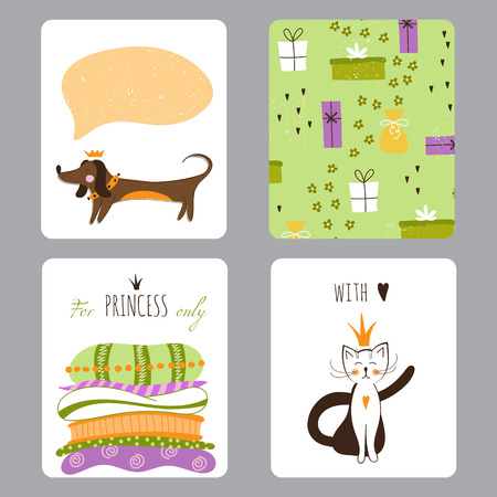 small greeting card template