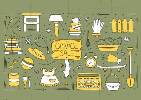 Garage verkoop onderdelen
