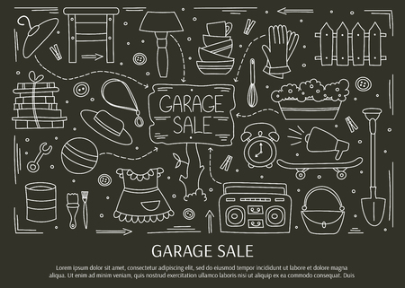 Garage sale elements
