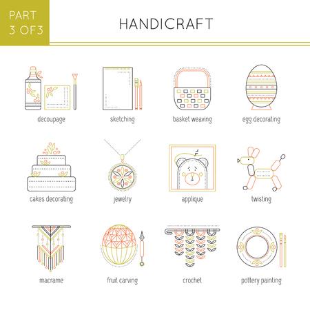 Types of handmade set