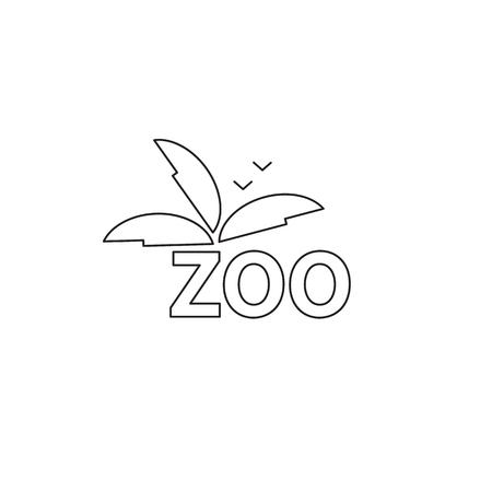 excursion: Zoo line icon