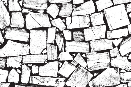 mason: A Vector Bricks and Stones Texture. Illustration