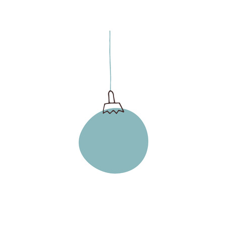 Vector Christmas tree decoration