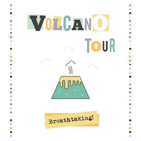 Volcano tour banner