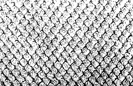 Fabric texture in black and white.