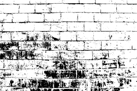 Abstract background. Vector bricks and stones texture. Old brick wall. Overlay illustration over any design to create depth and grungy vintage effect. For posters, banners, retro and urban designs. Illustration