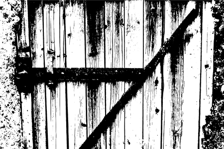 Vector wood texture. Abstract background, old wooden doors. Overlay illustration over any design to create grungy vintage rustic effect and depth. For posters, banners, retro and urban designs.