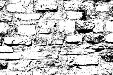 Bricks and stones light vector texture, abstract background. Old brick wall. For posters, banners, retro and urban designs. Overlay illustration over any design to create depth and grungy effect.