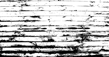 Horizontal narrow planks. Abstract background, old wooden wall. Wood vector texture. Overlay illustration over any design to create grungy vintage rustic effect and depth.