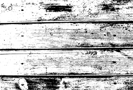 Old wooden wall, horizontal planks. Abstract background. Vector wood texture. For posters, retro and urban designs. Overlay illustration over any design to create grungy vintage rustic effect. Illustration