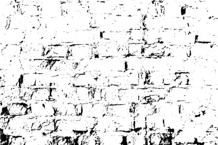 A subtle grunge texture, damaged old brick wall. Vector background. Overlay illustration over any design to create depth and grungy effect. For posters, banners, retro and urban designs.