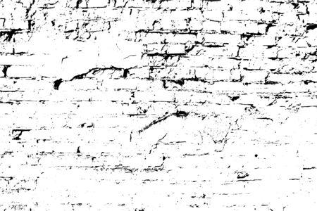 Vektor-Grunge-Textur-Hintergrund, eine alte Mauer. Legen Sie die Illustration über jedes Design, um Tiefe und einen grungigen Effekt zu erzeugen. Für Poster, Banner, Retro- und Urban-Designs.