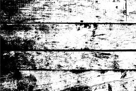 Old wall, horizontal wooden planks. Vector detailed texture. Abstract background. For posters, retro and rustic designs. Overlay illustration over any design to create grungy vintage rustic effect.