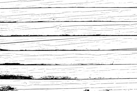 Vector wood texture. Old wooden wall, horizontal planks. Abstract background. For posters, retro and rustic designs. Overlay illustration over any design to create grungy vintage rustic effect.