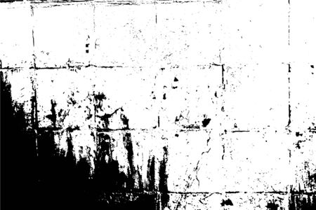 Background vector illustration. Dirty old surface, lined with ceramic tiles, a grunge texture. Create your deep grungy design in minutes. For posters, banners, retro and urban designs.