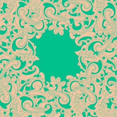 Frame lace-like Illustration