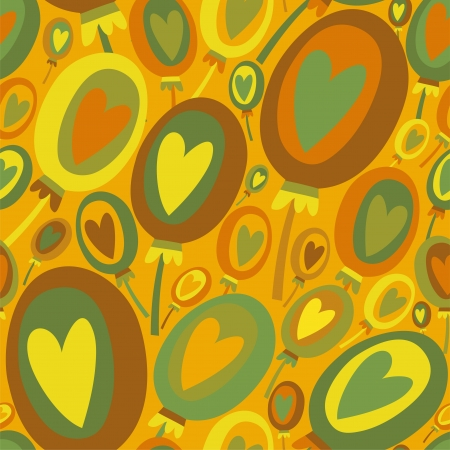 Colorful Balloons seamless pattern