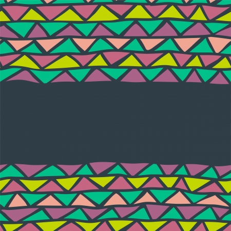 abstract triangle seamless background