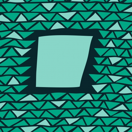 abstract triangle frame Illustration