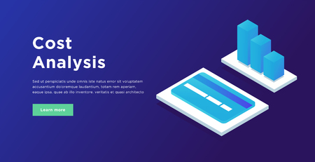 Cost analysis infographic